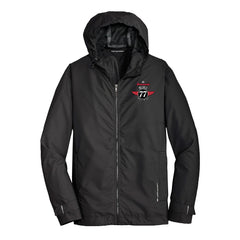 Interstate Blues Port Authority Slicker Rain Jacket (Men) - Black