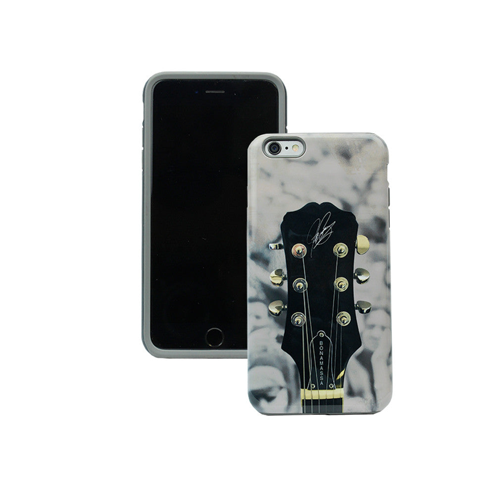Guitar Headstock Phone Case - iPhone 6s (Black Bumper)