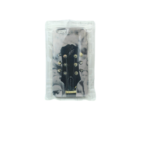 Guitar Headstock - iPhone 6s (Black Bumper)