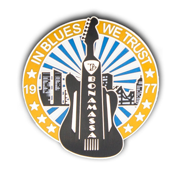 Jazzmaster City Pin