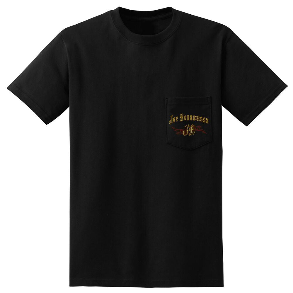 JB Gold Foil Pocket T-Shirt (Unisex)