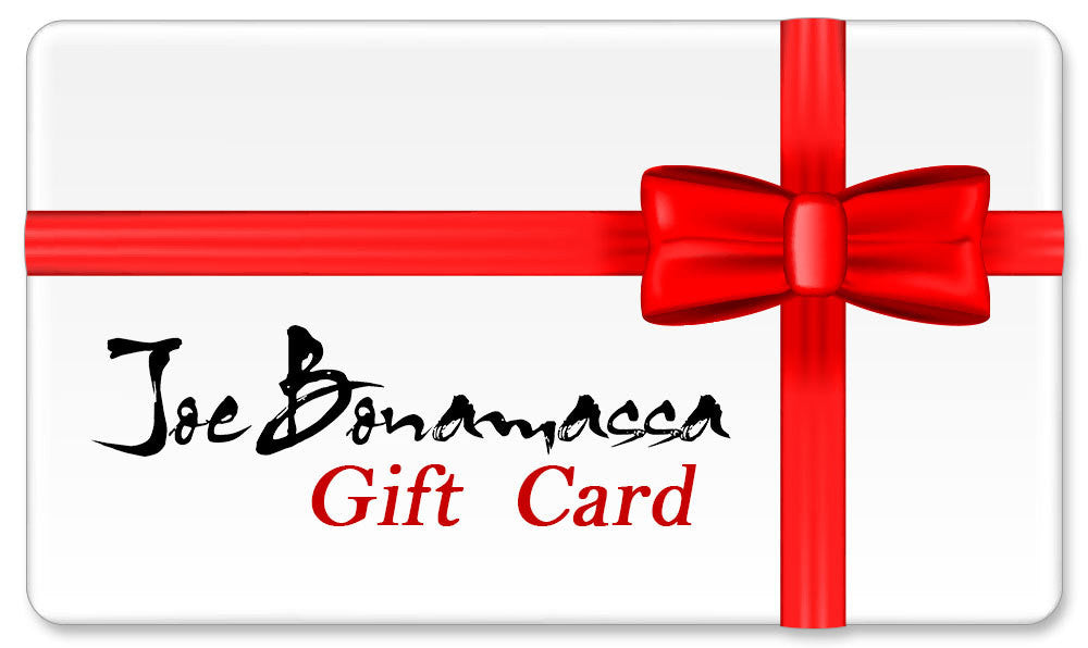 Joe Bonamassa eGift Card