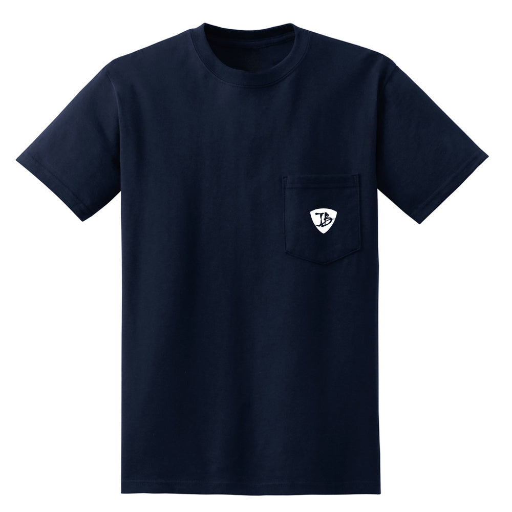 Aurora Bluerealis Pocket T-Shirt (Unisex) - Navy