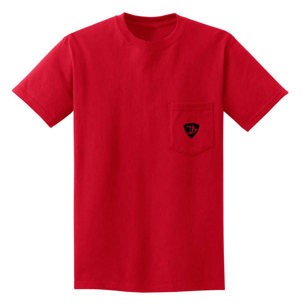 JB Guitars Pocket T-Shirt (Unisex) - Red