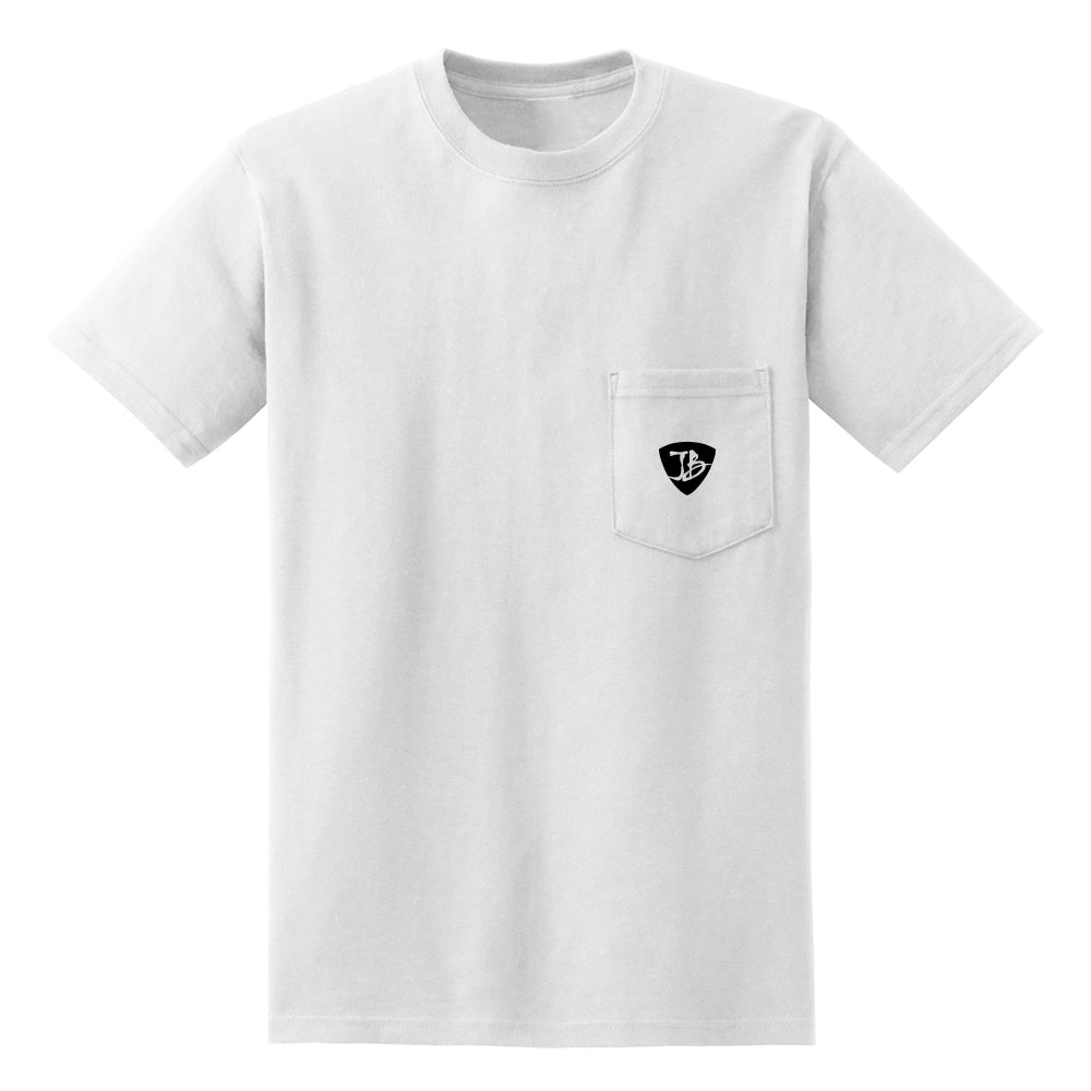 JB Guitars Pocket T-Shirt (Unisex) - White