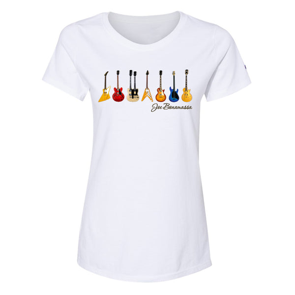 JB Guitars Champion Short Sleeve T-Shirt (Women) - White