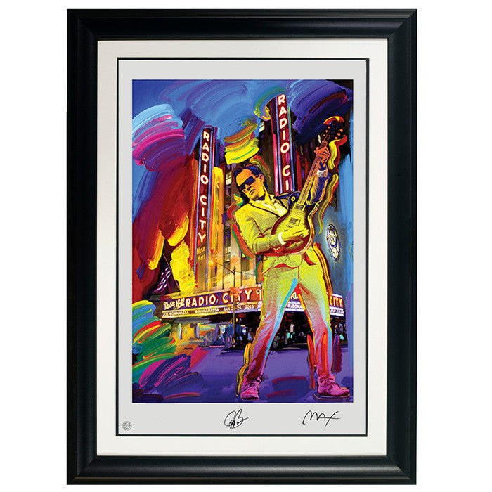 "#18 ""Evolution"" Peter Max Collectible Litho (FRAMED – USA ONLY)"