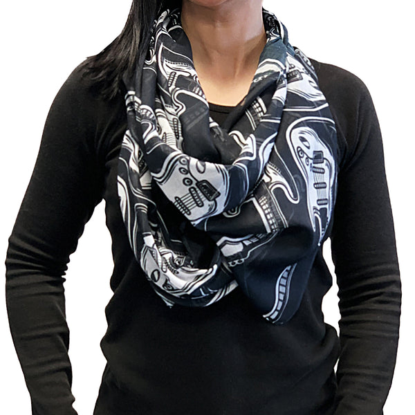Strats Scarf - Black