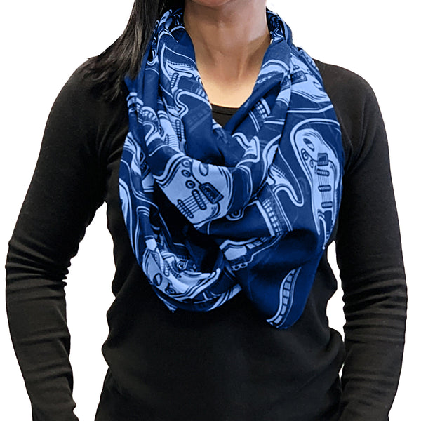 Strats Scarf - Blue