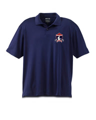 Embroidered Bonamassa Crest Polo (Navy Blue)