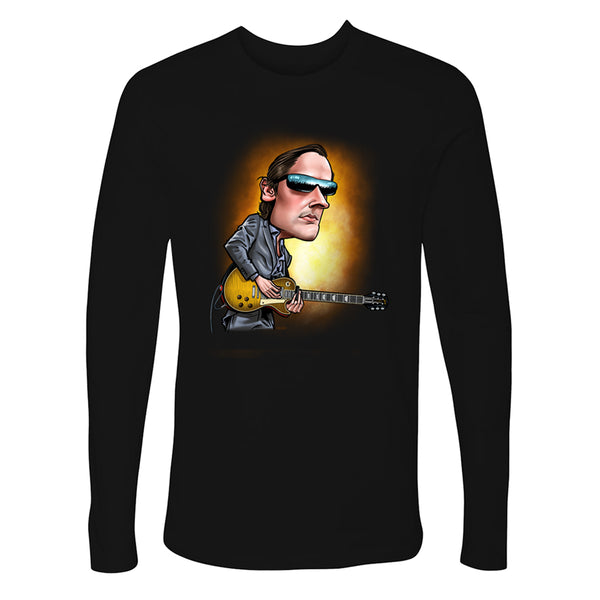 Joe Bonamassa & Skinnerburst Cartoon Long Sleeve (Men)