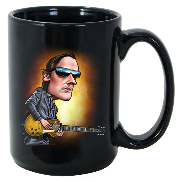Joe Bonamassa & Skinnerburst Cartoon Mug