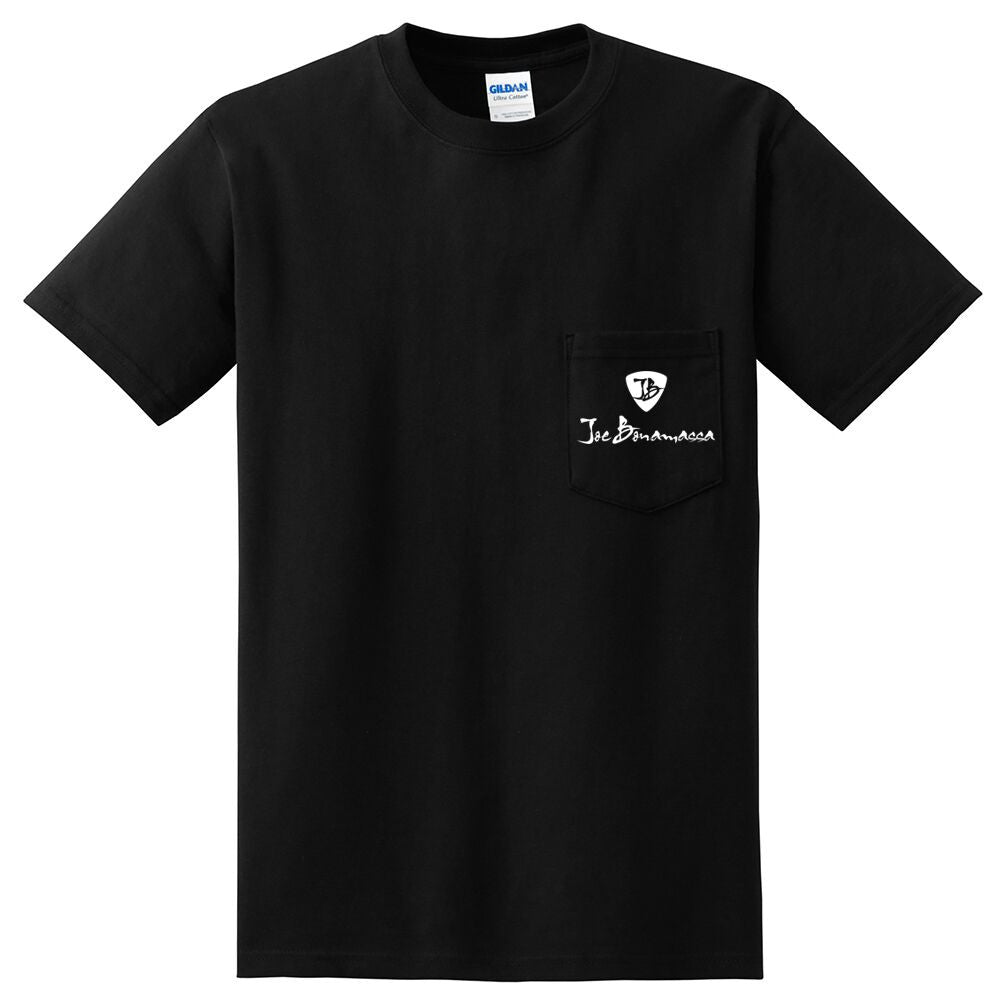 Joe Bonamassa Face Pocket T-Shirt (Unisex)