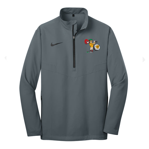 Nerdville Golf Nike 1/2 Zip-Up - Grey