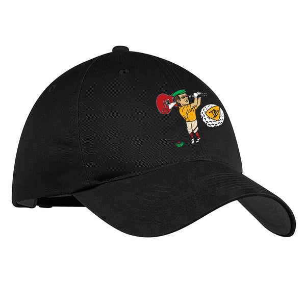 Nerdville Golf Nike Hat - Black