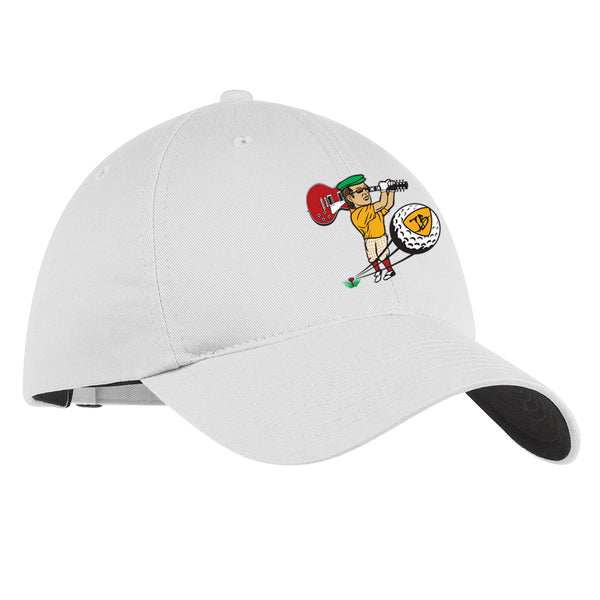Nerdville Golf Nike Hat - White