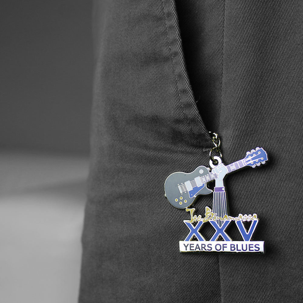 25th Anniversary Celebratory Keychain
