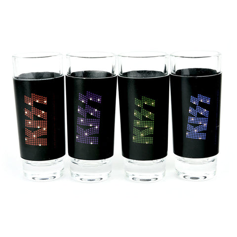 KISS – Shot Glasses (4 Pack)