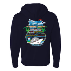2020 KTBA at Sea VI Zip-Up Hoodie (Unisex)
