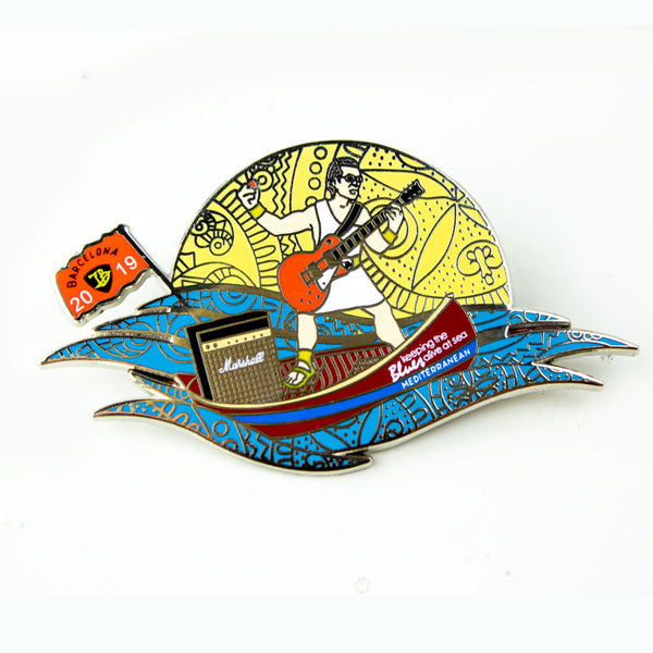 2019 KTBA at Sea Mediterranean Pin ***PRE-ORDER***