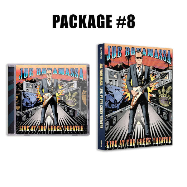 Live at the Greek Theatre CD & DVD Package