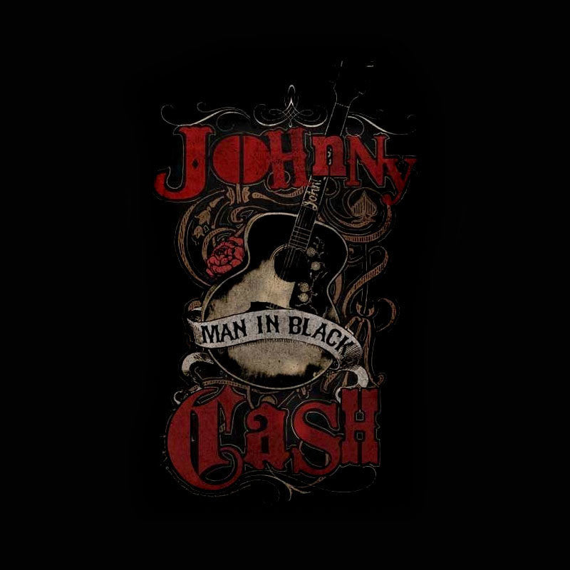 Johnny Cash – Man in Black Guitar (Women)