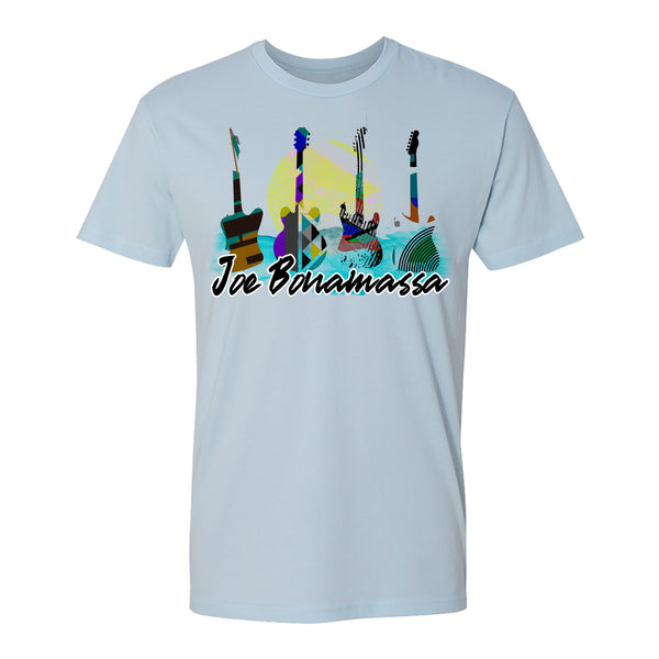 Watercolor Blues T-Shirt (Unisex) - Light Blue