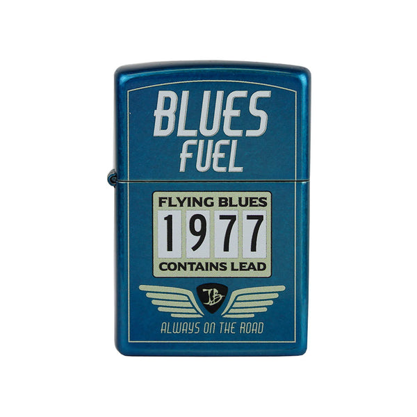 Hot Rod JB Zippo Lighter - Cobra Blue