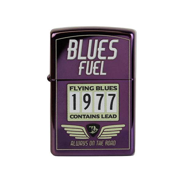 Hot Rod JB Zippo Lighter - Firemist Purple