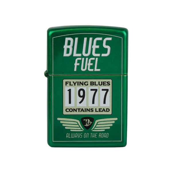 Hot Rod JB Zippo Lighter - Rally Green