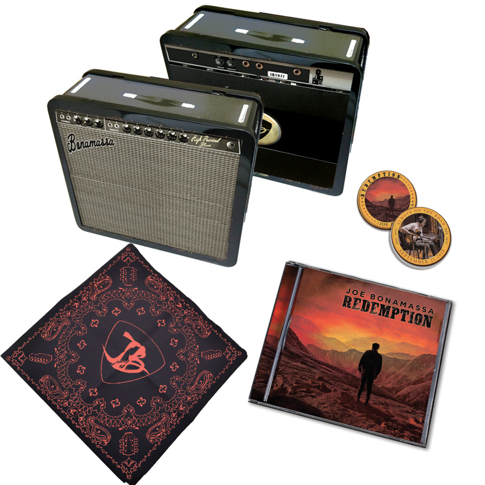 Redemption Limited Edition Tin Case & CD Package