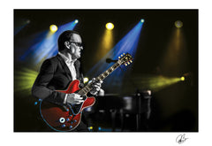 "#28 "" Dial It Up "" JOE BONAMASSA Collectible Litho (UNFRAMED - INTERNATIONAL ONLY)"