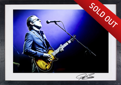 """Blues Deluxe"" -Joe Bonamassa Collectable Litho #9"