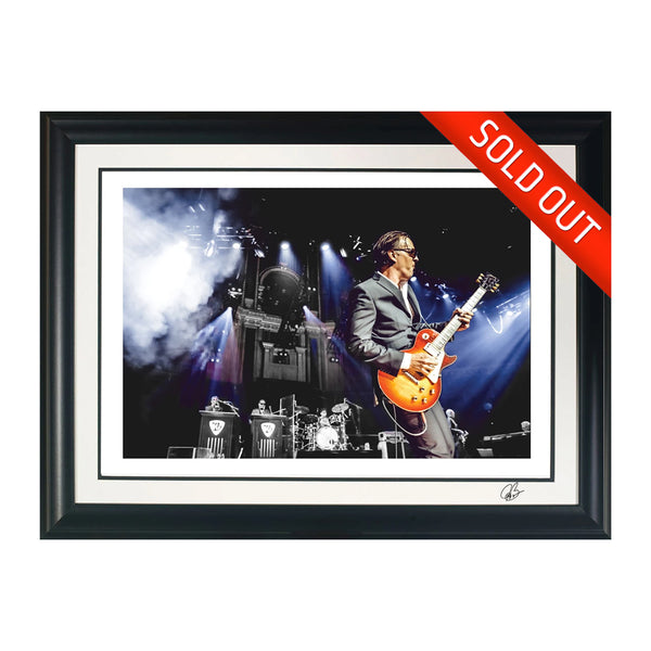 "#35 ""Royal Organ"" JOE BONAMASSA Collectible Litho (FRAMED - USA ONLY)"