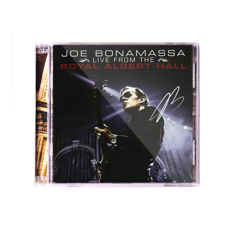 Joe Bonamassa: Live From The Royal Albert Hall (Double CD) (Released: 2010) - Hand-Signed
