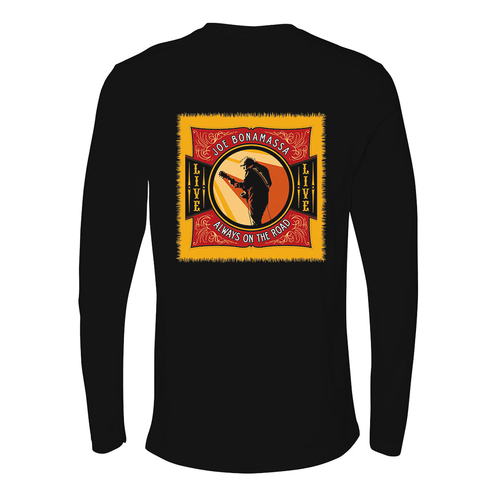 Live from Nowhere in Particular Long Sleeve (Men) - Black