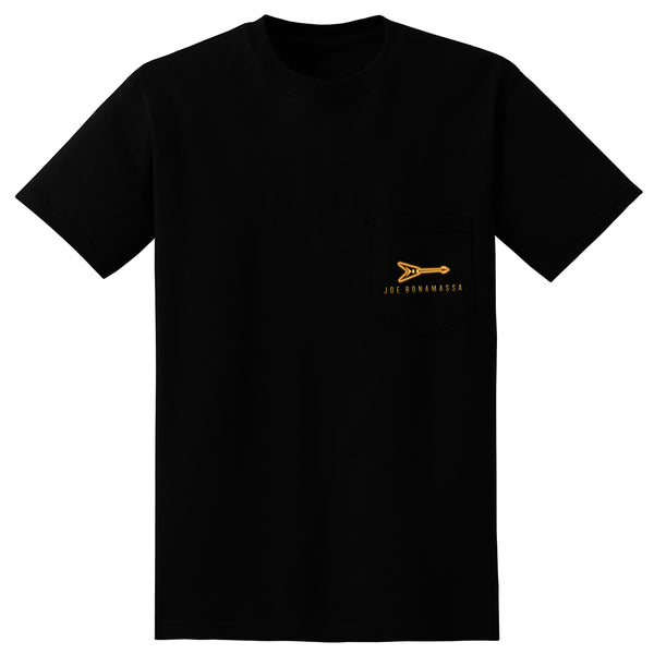 Live From Nerdville with Joe Bonamassa Pocket T-Shirt (Unisex)
