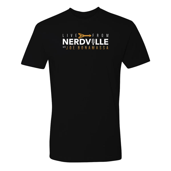 Live From Nerdville with Joe Bonamassa T-Shirt (Unisex)