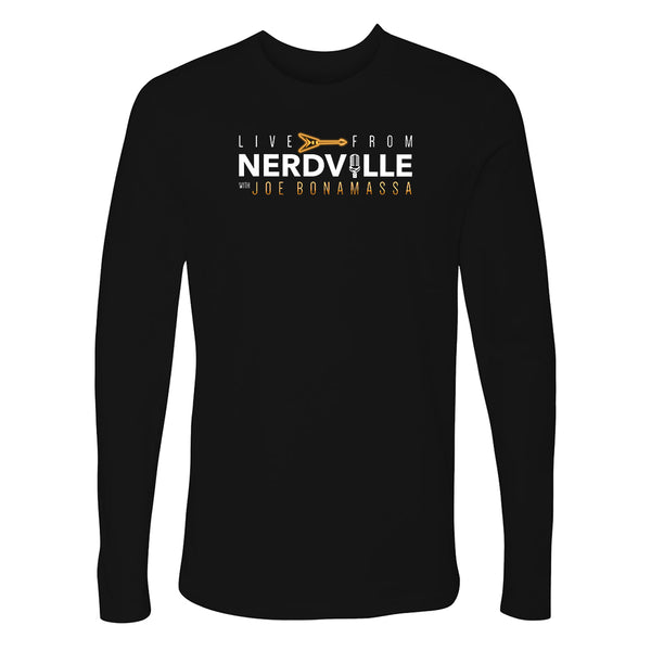Live From Nerdville with Joe Bonamassa Long Sleeve (Men)