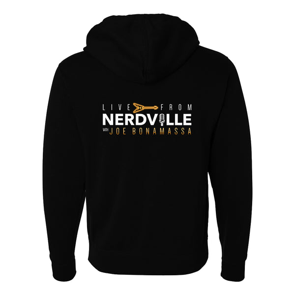 Live From Nerdville with Joe Bonamassa Zip-Up Hoodie (Unisex)