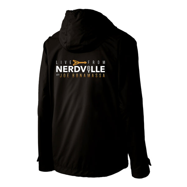 Live From Nerdville wit Joe Bonamassa Port Authority Slicker Rain Jacket (Men) - Black