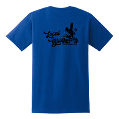 Local Blues Pocket T-Shirt (Unisex) - Royal/Black