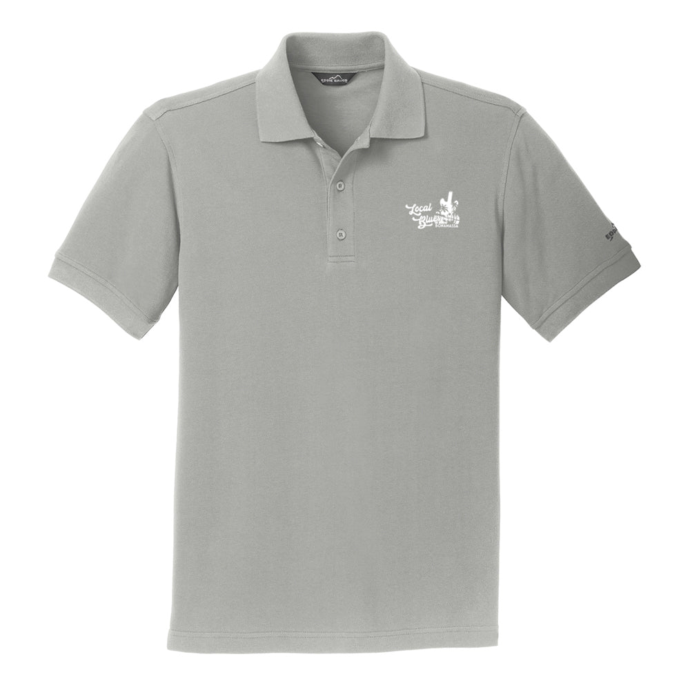 Local Blues Eddie Bauer Pique Polo (Men) - Chrome