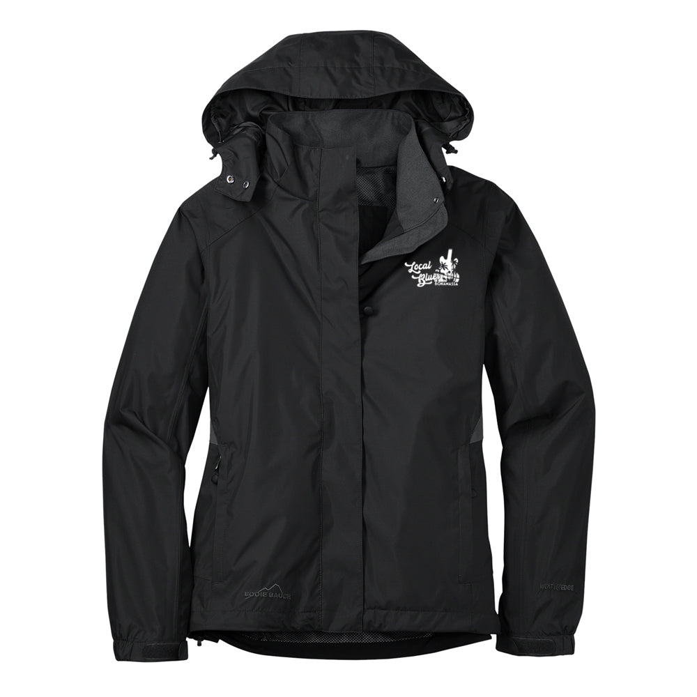 Local Blues Eddie Bauer Rain Jacket (Women) - Black
