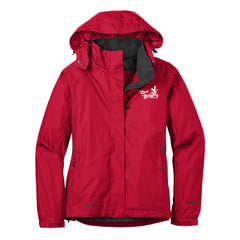 Local Blues Eddie Bauer Rain Jacket (Women) - Red