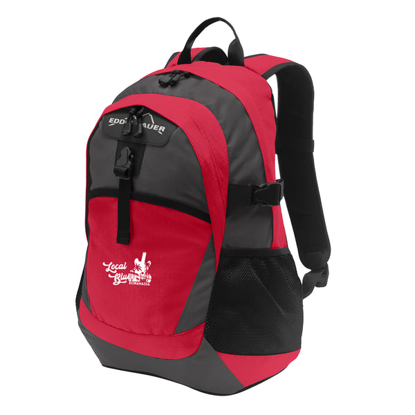 Local Blues Eddie Bauer Backpack - Red