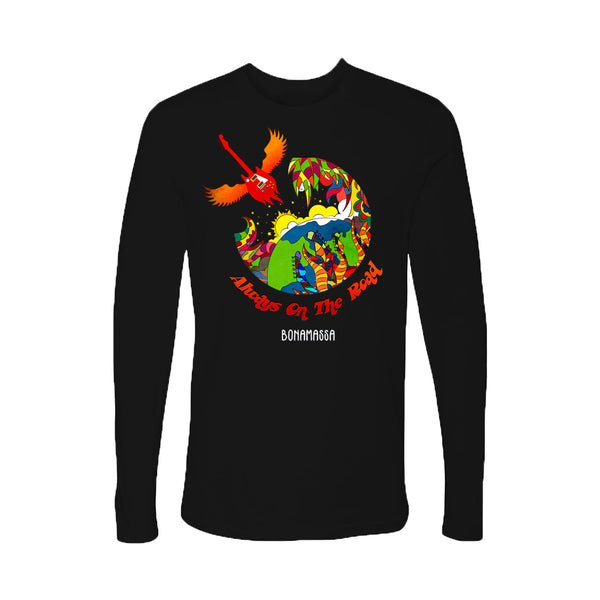 Blues Universe Long Sleeve (Men) - Black