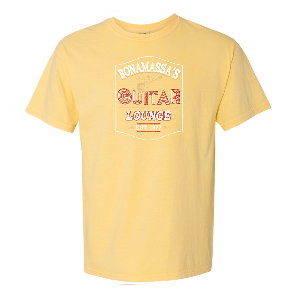 Bonamassa's Lounge Comfort Colors T-Shirt (Unisex) - Butter