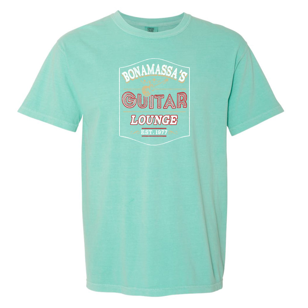 Bonamassa's Lounge Comfort Colors T-Shirt (Unisex) - Mint