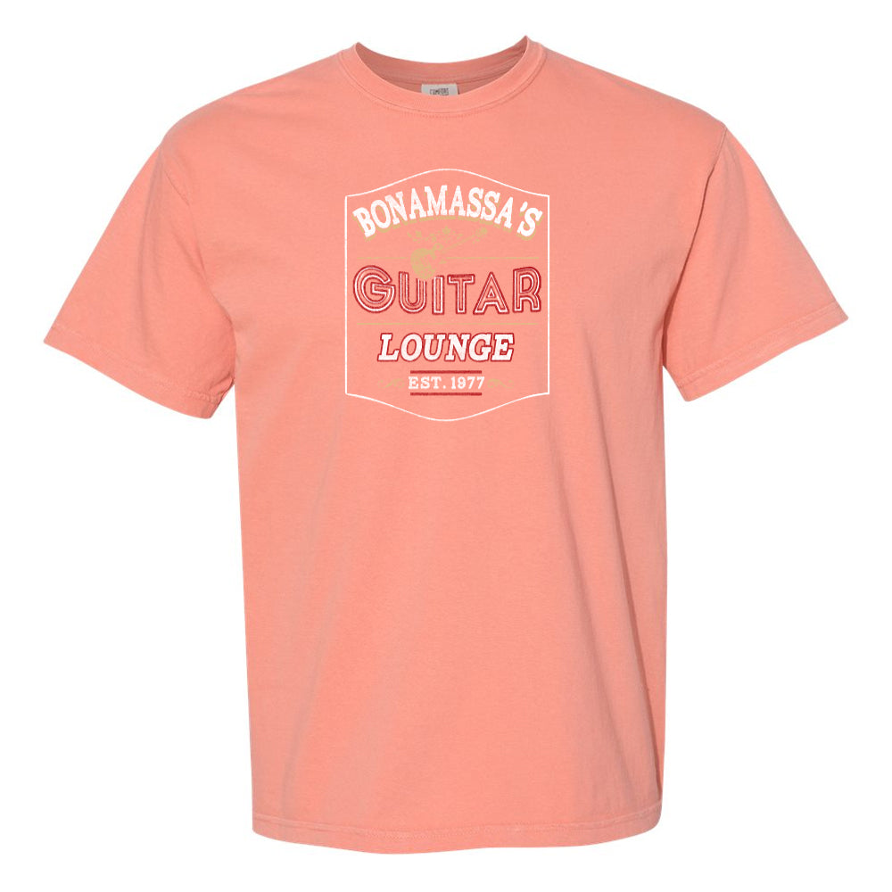 Bonamassa's Lounge Comfort Colors T-Shirt (Unisex) - Terracotta